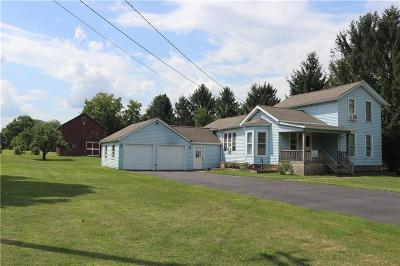 Orleans County Single Family Home Active Under Contract: 3024 Brown Road