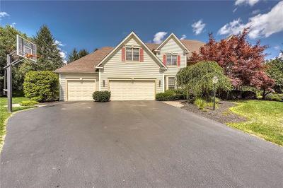 Pittsford Single Family Home For Sale: 17 Tamarron Way