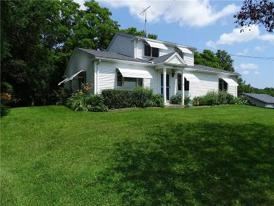 Genesee County Single Family Home For Sale: 5899 E Bethany Leroy Road