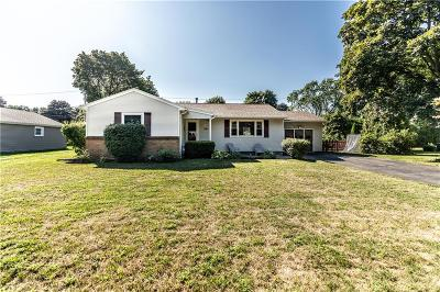Single Family Home For Sale: 545 Wahlmont Drive
