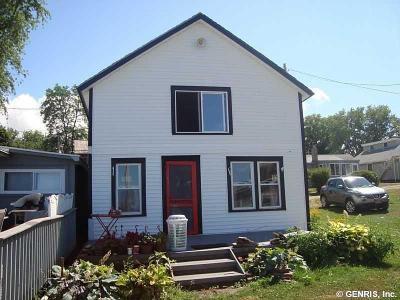 Williamson Single Family Home For Sale: 5025 Lake Road