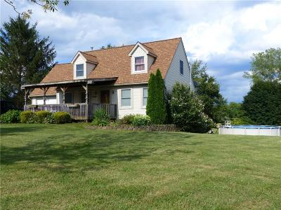 Genesee County, Livingston County, Monroe County, Ontario County, Orleans County, Wayne County Single Family Home For Sale: 3430 Newark Road