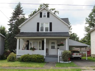 Jamestown NY Single Family Home For Sale: $69,900