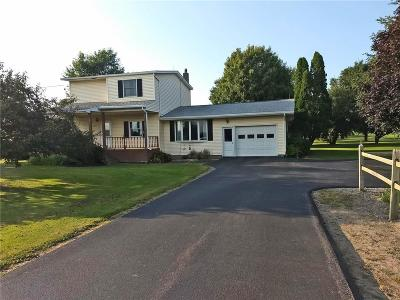 Warsaw Single Family Home For Sale: 5893 State Route 20a