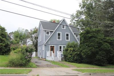 Single Family Home For Sale: 121 Hallock Street