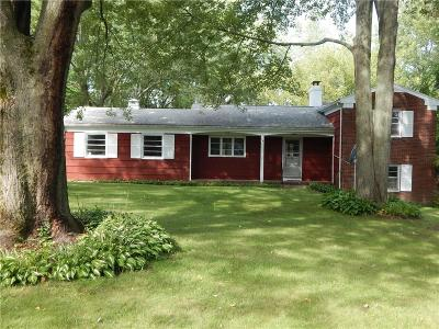 Rochester Single Family Home For Sale: 1841 Clark Road