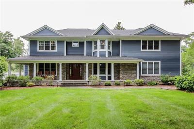 Cayuga County, Monroe County, Ontario County, Seneca County, Yates County Single Family Home For Sale: 7825 Pittsford Palmyra Road