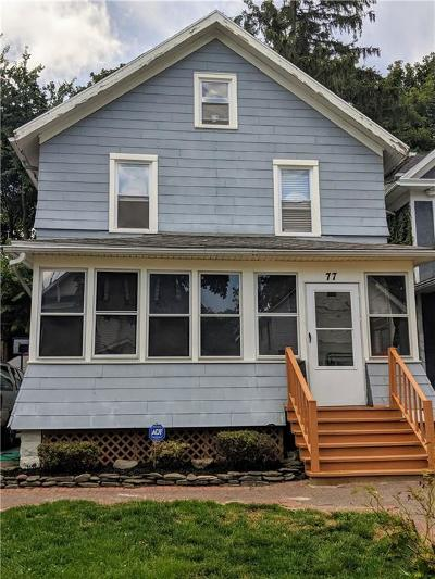 Rochester Single Family Home For Sale: 77 Woodlawn Street