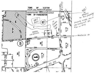 Ontario County Residential Lots & Land For Sale: Mertensia Road
