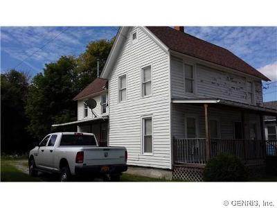 North Dansville NY Multi Family 2-4 Sold: $61,900