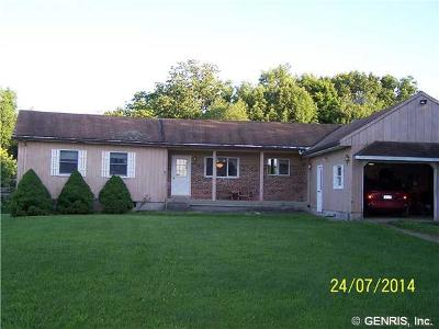 West Sparta NY Single Family Home Sold: $82,000