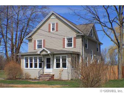 Single Family Home Sold: 4222 Shortsville Road