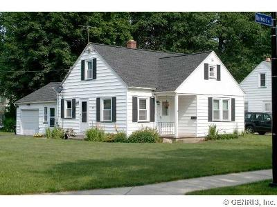Rochester NY Single Family Home Sold: $89,900