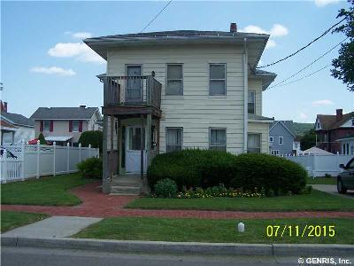 Hornell NY Multi Family 2-4 Sold: $39,000