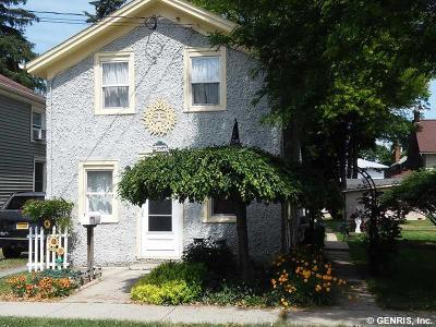 North Dansville NY Single Family Home A-Active: $54,900