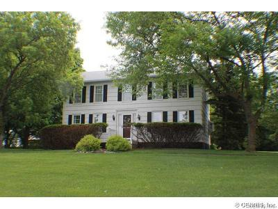 Single Family Home Sold: 3885 Middle Cheshire Road