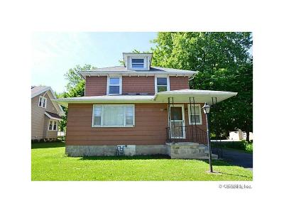 Genesee County Single Family Home U-Under Contract: 87 West Main Street