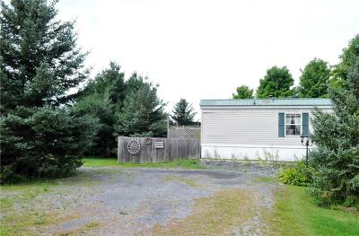 Lowville NY Single Family Home Sold: $64,000