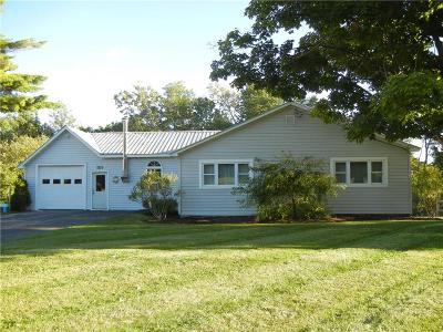 Single Family Home Sold: 7377 Route 12