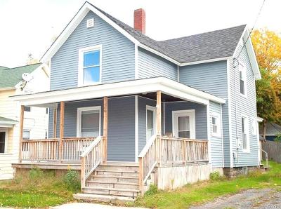 Carthage NY Single Family Home A-Active: $84,900