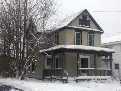 Watertown-City NY Single Family Home Sold: $105,000