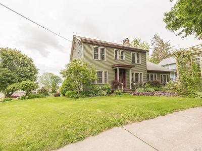 Lowville NY Single Family Home Sold: $219,500