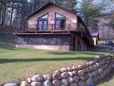 Jefferson County, Lewis County Single Family Home A-Active: 7754 Hiawatha Lake Road
