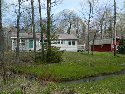 Montague NY Single Family Home Sold: $105,000