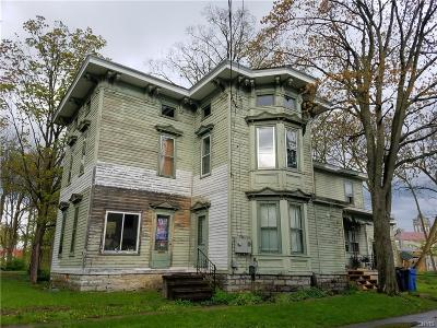 Lowville NY Single Family Home Sold: $86,000