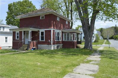 Watertown-City NY Single Family Home A-Active: $84,900