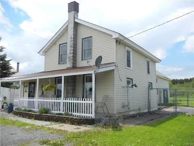 Pinckney NY Single Family Home A-Active: $139,500
