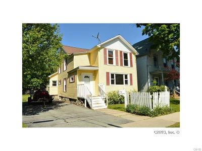 Watertown-City NY Single Family Home A-Active: $134,999