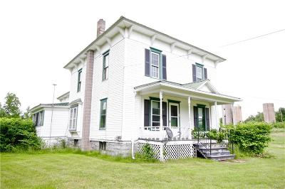 St Lawrence County Single Family Home A-Active: 59 Battle Hill Road