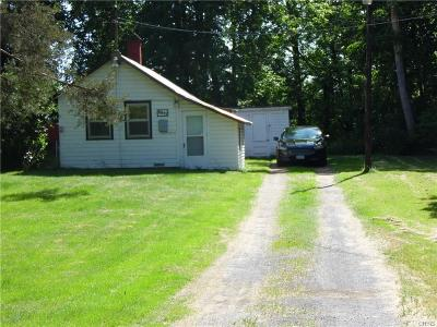 Lowville NY Single Family Home Sold: $16,500