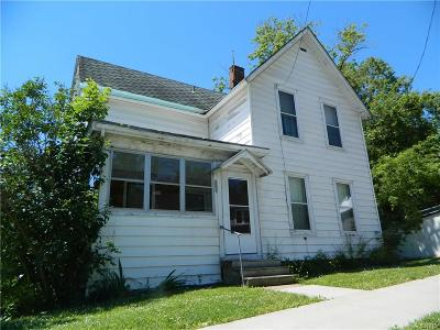 Lowville NY Single Family Home Sold: $25,000