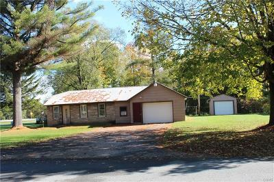 Leyden NY Single Family Home A-Active: $60,000
