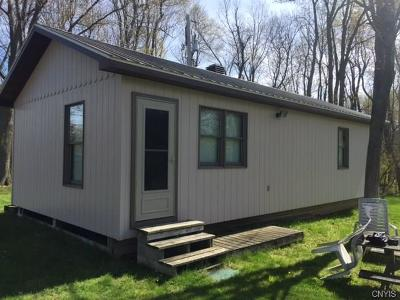 Jefferson County, Lewis County Single Family Home A-Active: 11287 North Shore Road