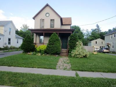Watertown-City NY Single Family Home A-Active: $119,000