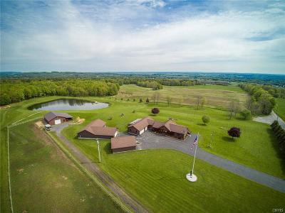 Jefferson County, Lewis County Single Family Home A-Active: 6483 Cone Road