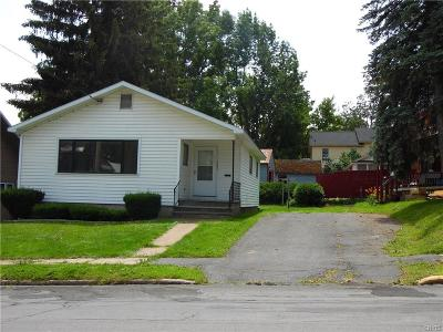 Lowville NY Single Family Home Sold: $62,500