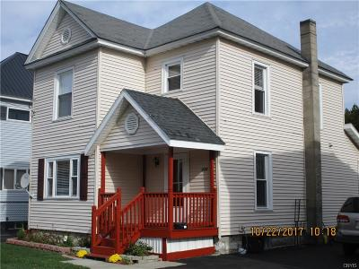 Watertown-City NY Single Family Home A-Active: $125,000
