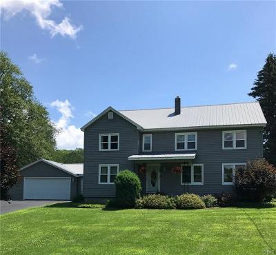 Greig NY Single Family Home Sold: $169,494