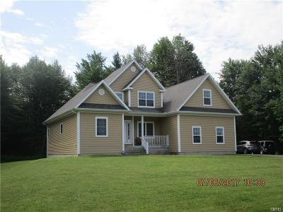 Jefferson County, Lewis County Single Family Home A-Active: 14362 Theriault Road