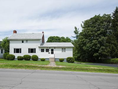 Lowville NY Single Family Home A-Active: $148,500