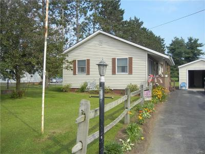 New Bremen NY Single Family Home Sold: $68,000