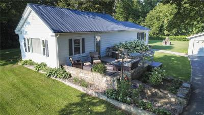 Jefferson County, Lewis County Single Family Home A-Active: 417 Cty Rte 75 Aka Smithville/Adams Rd