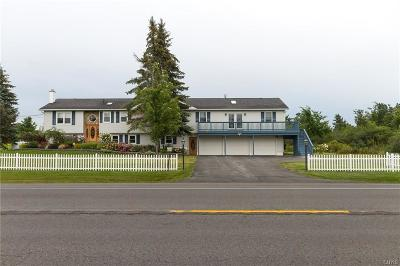 Jefferson County, Lewis County Single Family Home A-Active: 25876 Nys Route 12