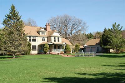 Cazenovia Single Family Home A-Active: 4572 Lake Road East