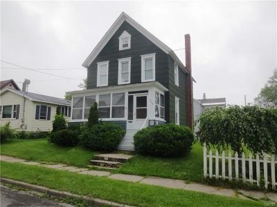 Watertown-City NY Single Family Home A-Active: $120,000