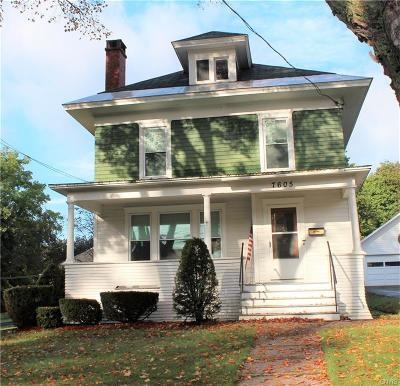 Lowville NY Single Family Home Sold: $95,000